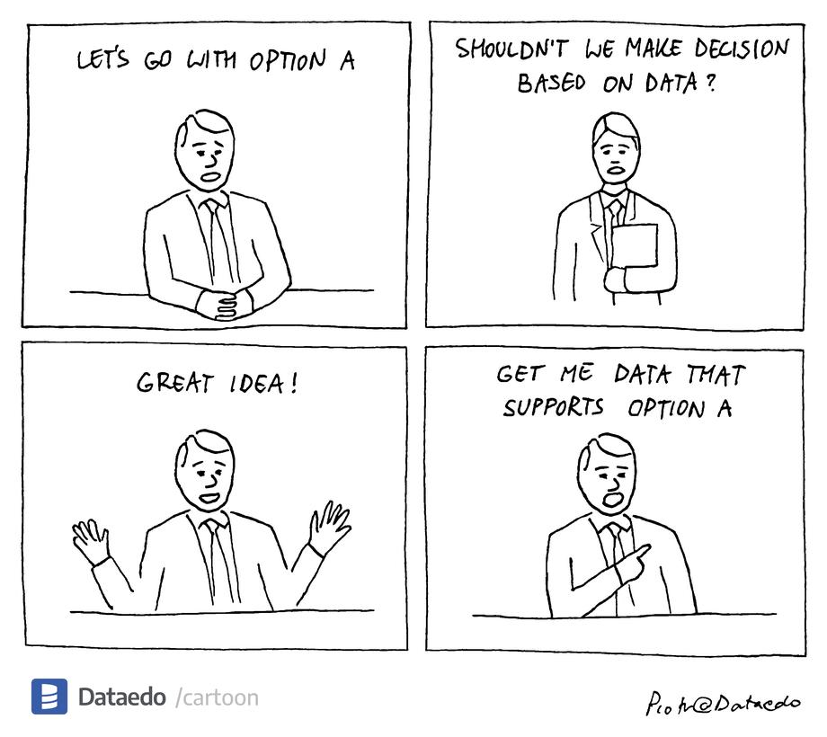 Data-Driven Isn't Dead