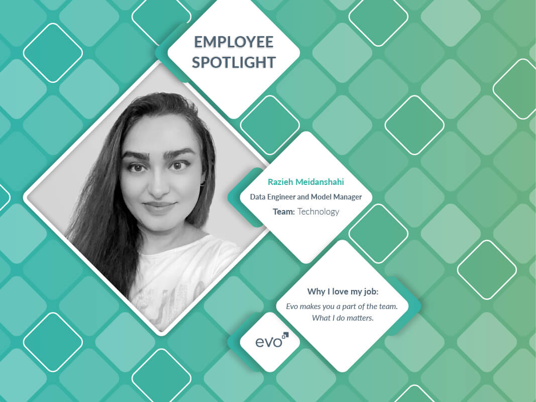 Evo October Spotlight: Razieh Meidanshahi